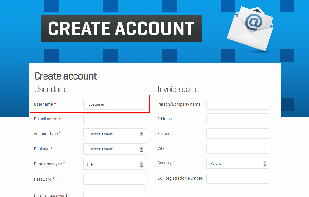 Customer account create/ - Creating Customer Account On Unistore24 Com